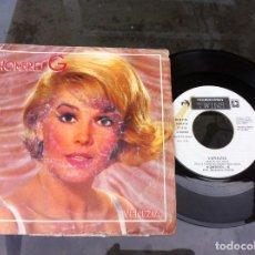 Discos de vinilo: SINGLE. HOMBRES G. VENEZIA. 1985. Lote 162562970
