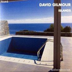 Discos de vinilo: DAVID GILMOUR LP ISLANDS VINILO LIVE 2006 MUY RARO COLECCIONISTA PINK FLOYD. Lote 162566170