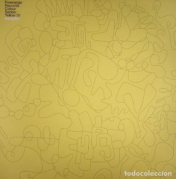 FREERANGE RECORDS COLOUR SERIES: YELLOW 01 / VINYL, 12 P. 45 RPM, SAMPLER / 2004 (Música - Discos de Vinilo - EPs - Techno, Trance y House)