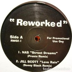 Discos de vinilo: REWORKED / REWORKED (2) ‎– RW02-1 / VINYL, 12 IN / PARTIALLY UNOFFICIAL, 33 ⅓ RPM / 2003. Lote 162581274