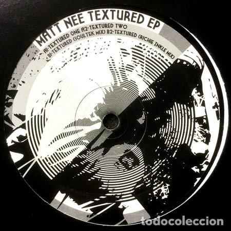 MATT NEE – TEXTURED EP / PSEUDO RECORDS – PSEUDO-004 / 2004 (Música - Discos de Vinilo - EPs - Techno, Trance y House)