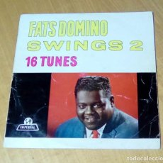 Discos de vinilo: FATS DOMINO - SWINGS 2 (LP IMPERIAL ILW 1018). Lote 162582002