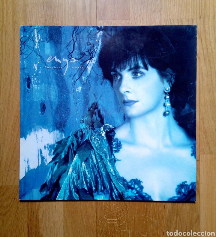ENYA - SHEPHERD MOONS, WEA, 1991. GERMANY. (Música - Discos - LP Vinilo - Étnicas y Músicas del Mundo)