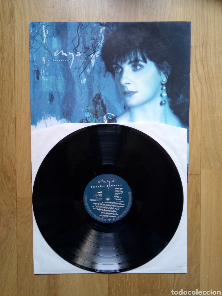 Discos de vinilo: Enya - shepherd moons, Wea, 1991. Germany. - Foto 3 - 162604301