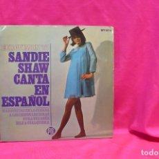 Discos de vinilo: SANDIE SHAW CANTA EN ESPAÑOL, MARIONETAS EN LA CUERDA, + 3, EUROVISION 67, PYE. Lote 162614830