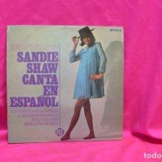 Discos de vinilo: SANDIE SHAW CANTA EN ESPAÑOL, MARIONETAS EN LA CUERDA, + 3, EUROVISION 67, HISPAVOX.. Lote 162615062