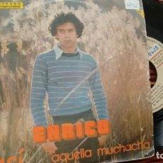 Dischi in vinile: SINGLE (VINILO) DE ENRICO AÑOS 70. Lote 162616614