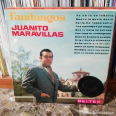 Discos de vinilo: LP DISCO VINILO JUANITO MARAVILLAS FANDANGOS. Lote 162629018
