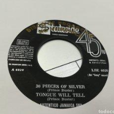Discos de vinilo: PRINCE BUSTER EP PROMOCIONAL AUTÉNTICO JAMAICA SKA 4 TEMAS ESPAÑA 1964. Lote 162632408