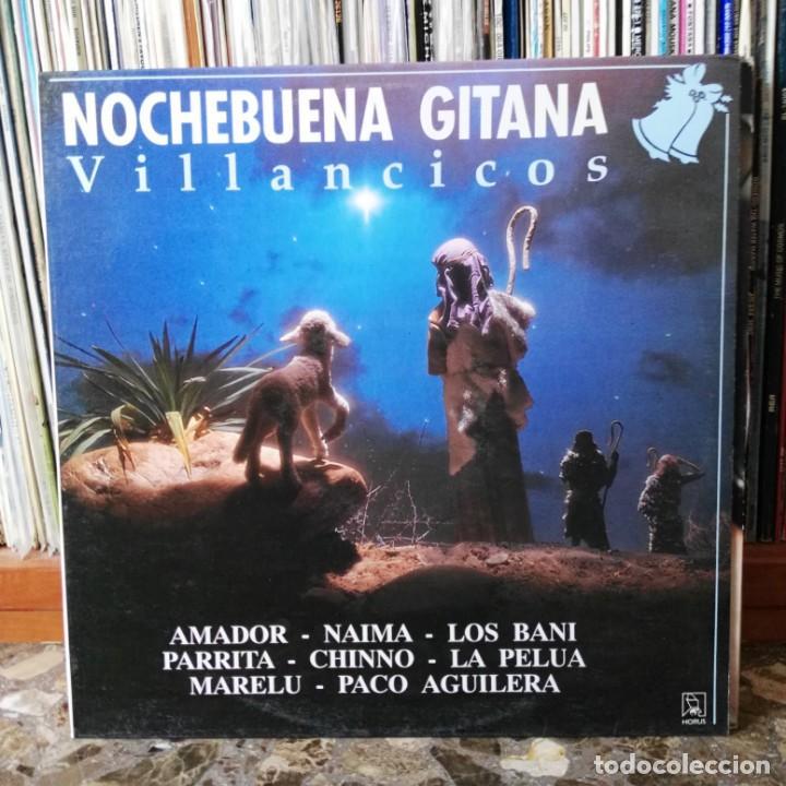 LP DISCO VINILO NOCHEBUENA GITANA VILLANCICOS (Música - Discos - LP Vinilo - Flamenco, Canción española y Cuplé)
