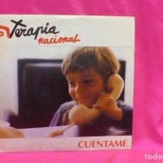 Discos de vinilo: TERAPIA NACIONAL, CUENTAME, PROMOCIONAL DE UNA SOLA CARA, SALAMANDRA, 1993.. Lote 162657594