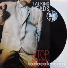 Discos de vinilo: TALKING HEADS - STOP MAKING SENSE (LP, ALBUM, RE) LABEL:EMI, EMI ELECTROLA CAT#: 038-7 46064 1, 038. Lote 162671538