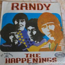Discos de vinilo: THE HAPPENINGS – RANDY - SINGLE 1968. Lote 162671854