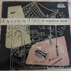 Discos de vinilo: BANDA MUNICIPAL DE MADRID: CONCIERTO EN EL RETIRO - VIENTO SUR - SINGLE. Lote 162672114