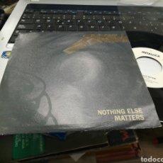 Discos de vinilo: METALLICA SINGLE NOTHING ELSE ALEMANIA 1992. Lote 162694172