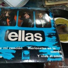 Discos de vinilo: ELLAS EP LA BANDA + 3 1967 ESCUCHADO. Lote 162695137