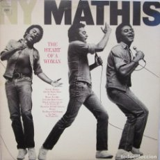 Discos de vinilo: JOHNNY MATHIS - THE HEART OF A WOMAN. Lote 162706314