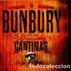 Discos de vinilo: BUNBURY - LICENCIADO CANTINAS - DOBLE VINILO + CD - A ESTRENAR. Lote 162712514