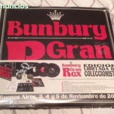 Discos de vinilo: ENRIQUE BUNBURY ?– GRAN REX (BUENOS AIRES. 3, 4 Y 5 DE NOVIEMBRE DE 2010) - TRIPLE VINILO. Lote 162712898