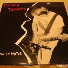Discos de vinil: MOVING TARGETS LP BURNING IN WATER 1986 WHAT GOES ON UK 1988. Lote 234618060