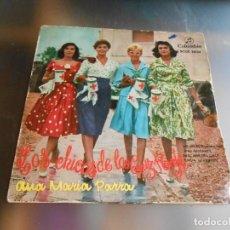 Discos de vinilo: ANA MARÍA PARRA, EP, LAS CHICAS DE LA CRUZ ROJA + 3, AÑO 1958. Lote 162747298