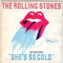 Discos de vinilo: SINGLE - THE ROLLING STONES - SHE'S SO COLD - SEND IT TO ME - EMI-ODEON - AÑO 1980.. Lote 162747818