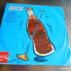Discos de vinilo: ROCK - COCA COLA, EP, BILL HALEY - ROCK AROUND THE CLOCK + 7, AÑO 19?? MADE IN GERMANY. Lote 162759874
