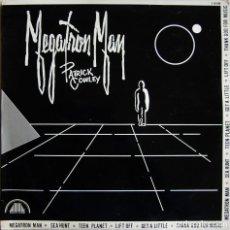 Discos de vinilo: PATRICK COWLEY – MEGATRON MAN, HISPAVOX S 90.686. Lote 162762618