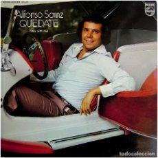 Discos de vinilo: ALFONSO SÁINZ (PEKENIKES) – QUÉDATE (STAY WITH ME) - LP SPAIN 1977 - PHILIPS 63 28 233. Lote 162768730