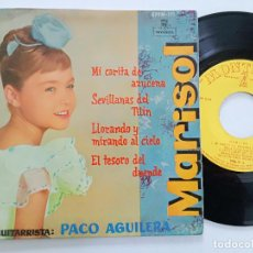 Discos de vinilo: MARISOL - MI CARITA DE AZUCENA + 3 - EP ZAFIRO / MONTILLA 1960. Lote 162771422