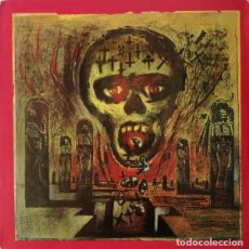 Discos de vinilo: SLAYER – SEASONS IN THE ABYSS -LP-. Lote 237332630