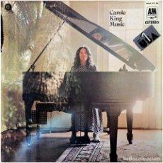 Discos de vinilo: CAROLE KING – MUSIC (MÚSICA) - LP SPAIN 1971 - ODE RECORDS HDAS 371-68. Lote 162772542