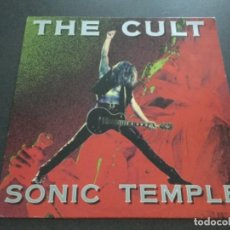 Discos de vinilo: THE CULT -SONIC TEMPLE . Lote 162774594