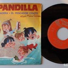 Discos de vinilo: LA PANDILLA / CAPITAN DE MADERA / SINGLE 7 INCH. Lote 162825434