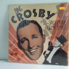 Discos de vinilo: BING CROSBY . Lote 162826966