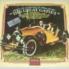 Discos de vinilo: EL GRAN GATSBY- THE GREAT GATSBY LP 1974 BANDA SONORA. Lote 162866986