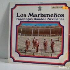 Discos de vinilo: LOS MARISMEÑOS . Lote 162874090