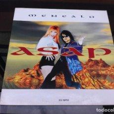 Vinyl-Schallplatten - MAXI SINGLE. ASAP. MENÉALO. 1996, HOLLAND - 162901742