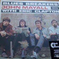 Discos de vinilo: JOHN MAYALL BLUES BREAKERS WITH ERIC CLAPTON LP. Lote 207523057
