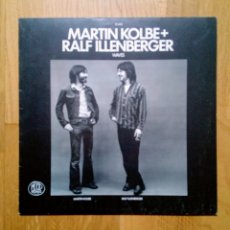 Discos de vinilo: MARTIN KOLBE + RALF ILLENBERGER - WAVES, MOOD RECORDS, RE 1982. GERMANY.. Lote 162903688
