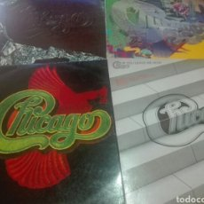 Discos de vinilo: LOTE 4 LP,S DE CHICAGO. Lote 162915356