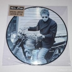 Discos de vinilo: BOB DYLAN - THE FIRST ALBUM (LP PICTURE 2016, REAL GONE RGMLP001) NUEVO. Lote 162929994