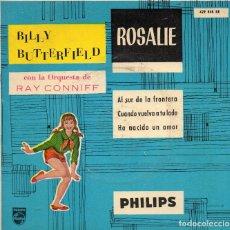 Discos de vinilo: EP 1960 - BILLY BUTTERFIELD CON ORQ. RAY CONNIFF - ROSALIE + CUANDO VUELVA A TU LADO + 2. Lote 162931382