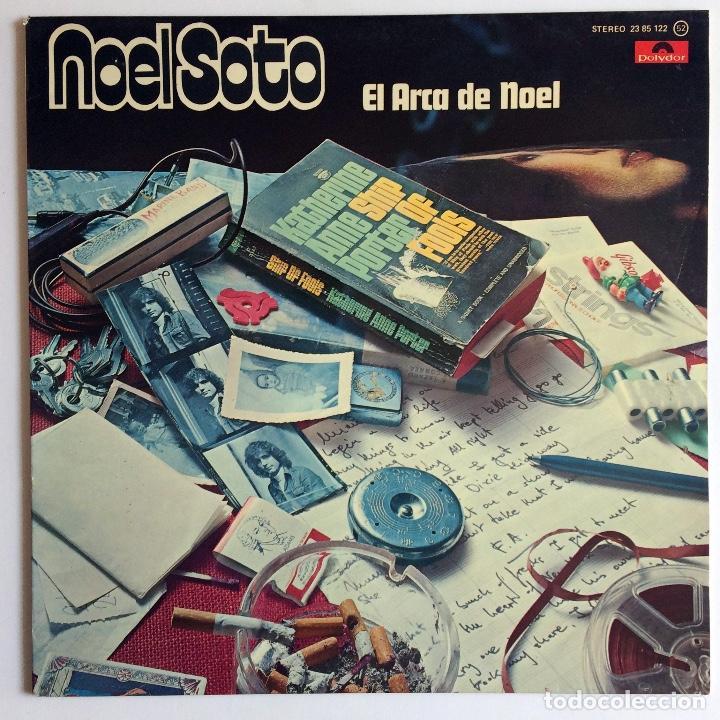 DISCO VINILO NOEL SOTO - EL ARCA DE NOEL - POLYDOR (Música - Discos - LP Vinilo - Cantautores Españoles)