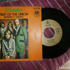 Discos de vinilo: PART OF THEUNION . Lote 162934646