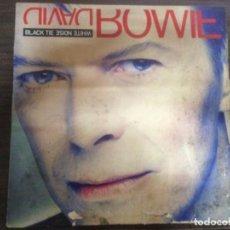 Discos de vinilo: LP DISCO VINILO DAVID BOWIE BLACK TIE WHITE NOISE. Lote 162938574
