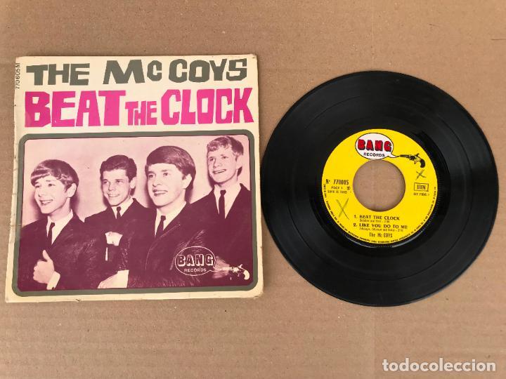 THE MCCOYS – BEAT THE CLOCK - ROCK EP (Música - Discos de Vinilo - EPs - Rock & Roll)