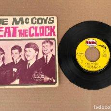 Discos de vinilo: THE MCCOYS – BEAT THE CLOCK - ROCK EP. Lote 162943042