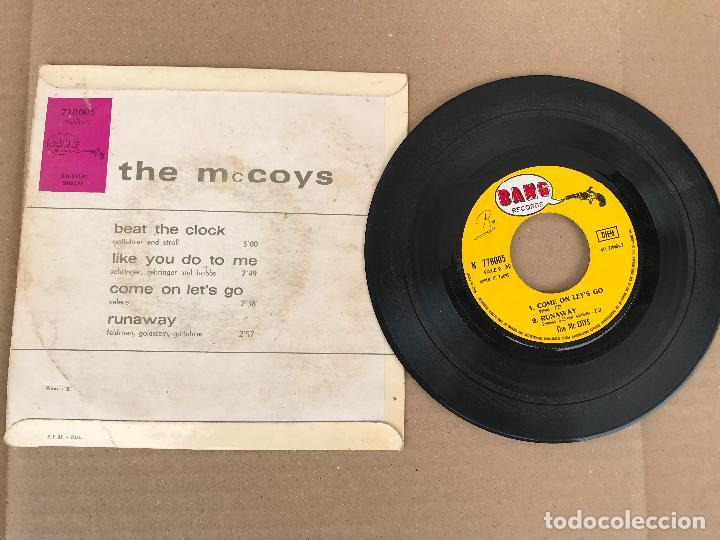 Discos de vinilo: The McCoys – Beat The Clock - rock ep - Foto 2 - 162943042