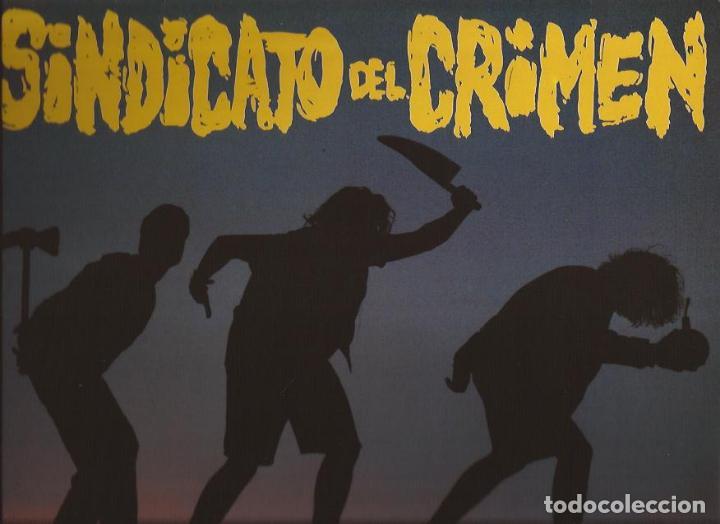LP SINDICATO DEL CRIMEN HIP HOP RADICAL TROYA 0734 INCLUYE INSERT (Música - Discos de Vinilo - EPs - Rap / Hip Hop)